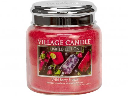 village candle svicka wild berry freeze stredni
