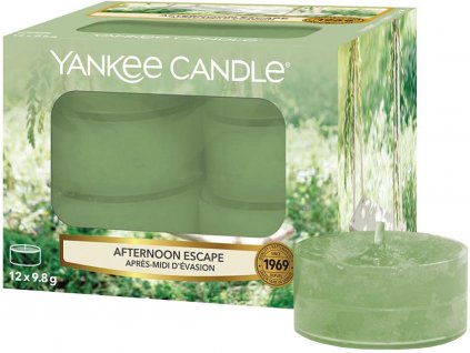 yankee candle cajove svicky afternoon escape