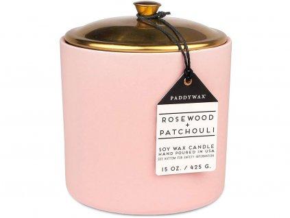 paddywax hygge svicka rosewood patchouli