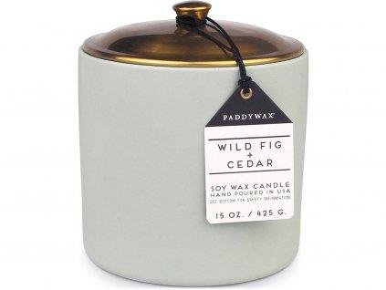 paddywax hygge svicka wild fig cedar velka