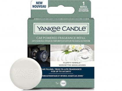 yankee candle napln do difuzeru do zasuvky auta fluffy towels