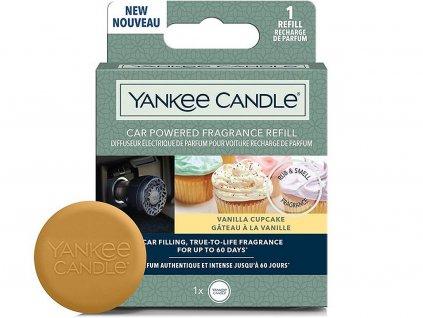 yankee candle napln do difuzeru do zasuvky auta vanilla cupcake