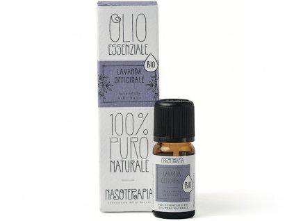 nasoterapie esencialni olej levandule lavandula officinalis