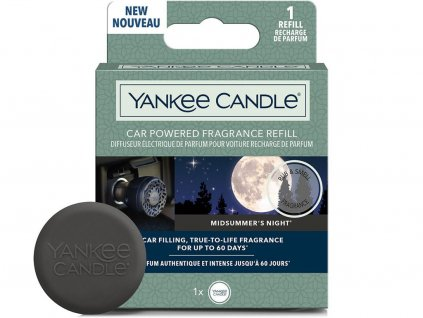 yankee candle napln vune do auta midsummers night