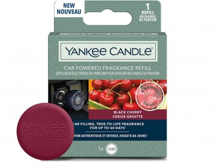 yankee candle napln vune do auta black cherry
