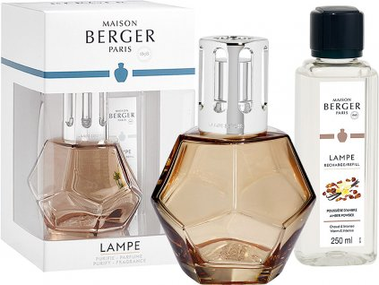 maison berger paris sada katalyticka lampa geometry zlata napln amber powder