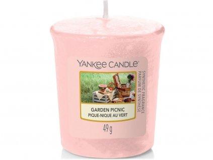 yankee candle garden picnic votivni