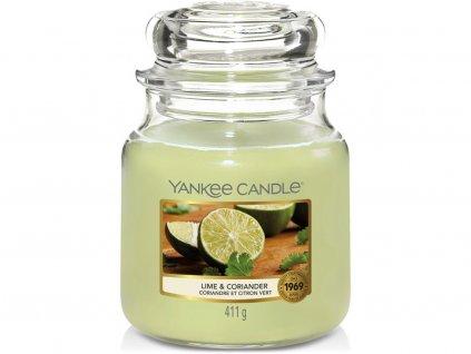 yankee candle lime coriander stredni