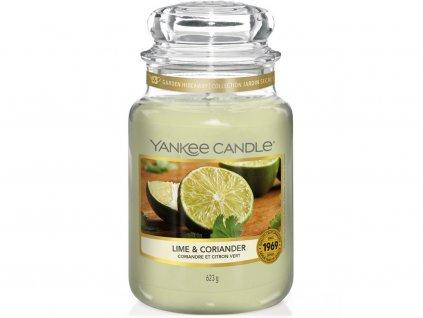 yankee candle lime coriander velka