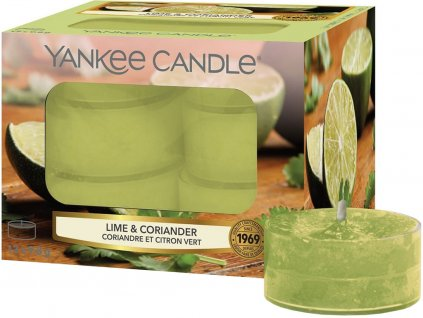 yankee candle lime coriander cajove