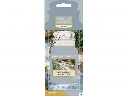 yankee candle water garden vune do auta papirova