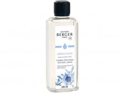 maison berger paris napln do katalyticke lampy aroma focus aromatic leaves