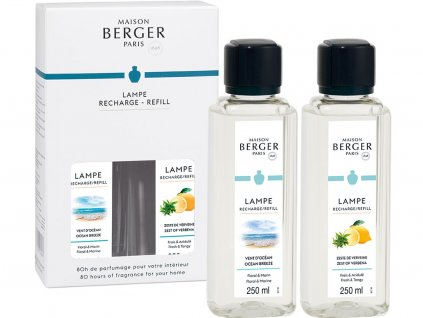 maison berger paris duopack naplne do katalyticke lampy ocean breeze verbena