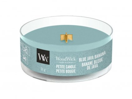 woodwick blue java banana petite