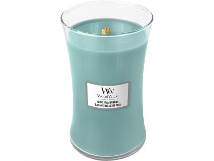 woodwick blue java banana velka