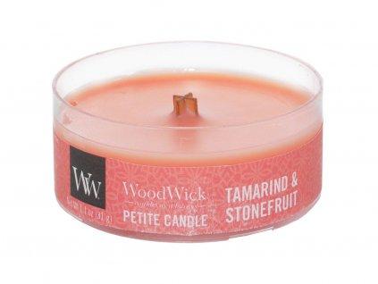 woodwick tamarind stonefruit svicka petite