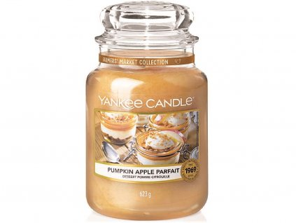yankee candle svicka pumpkin apple parfait