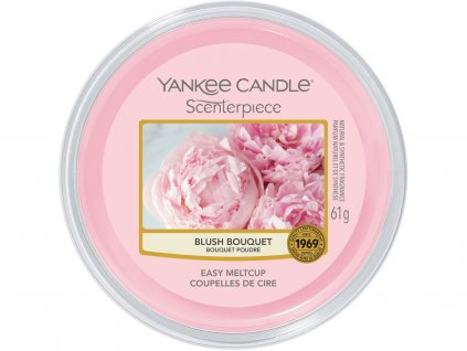 yankee candle blush bouquet meltcup scenterpiece vosk