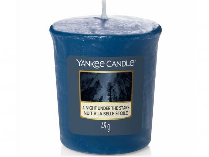 yankee candle night under stars votivni