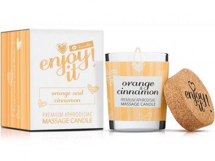 masazni svicka magnetifico orange cinnamon 1