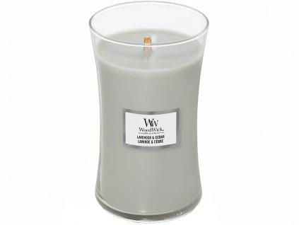 woodwick lavender cedar velka