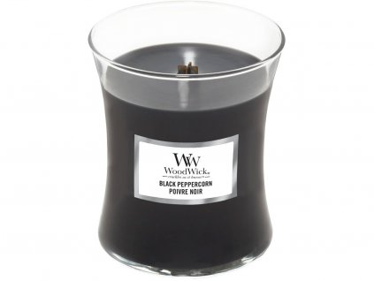 woodwick black peppercorn stredni
