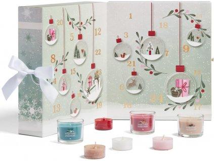 yankee candle adventni kalendar kniha 1