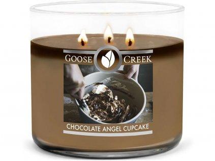 goose creek chocolate angel cupcake 3 knoty svicka