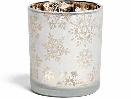 yankee candle snowflake frost svicen na votivni svicku