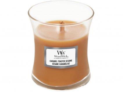 woodwick caramel toasted sesame svicka mala 1