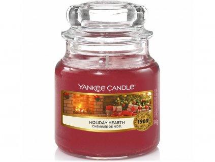 yankee candle holiday hearth svicka mala