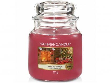 yankee candle holiday hearth svicka stredni