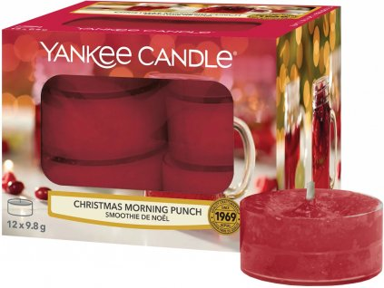 yankee candle christmas morning punch cajove svicky