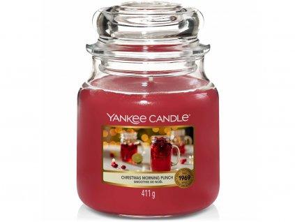 yankee candle christmas morning punch svicka stredni