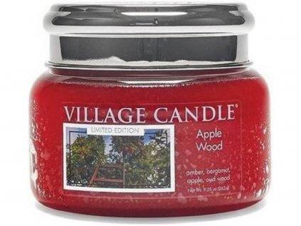 village candle here apple wood svíčka malá 262g
