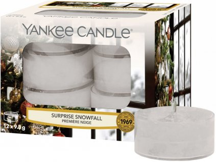 yankee candle surprise snowfall svicka cajova