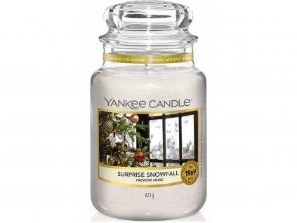 yankee candle surprise snowfall svicka velka