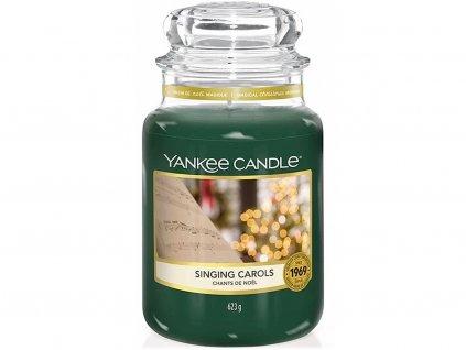 yankee candle singing carols svicka velka