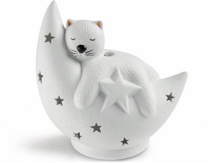 nasoterapia ultrazvukovy aroma difuzer pro deti kitty kocicka