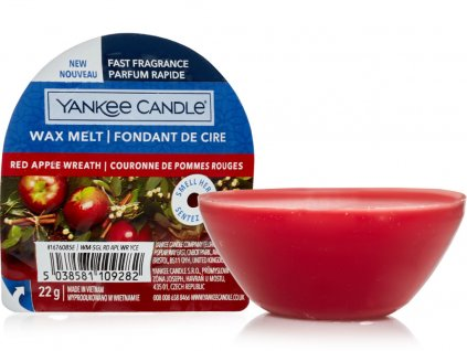 yankee candle red apple wreath vonny vosk