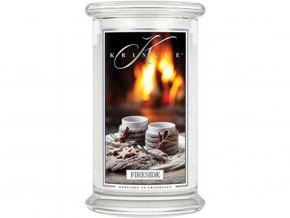 kringle candle svicka fireside