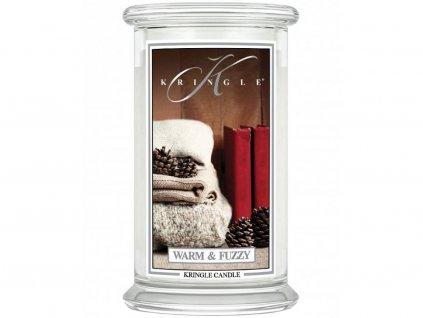 kringle candle warm fuzzy 624g