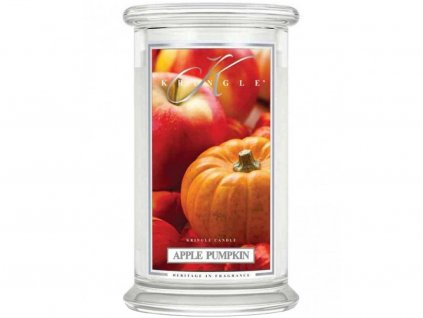 kringle candle apple pumpkin 624g