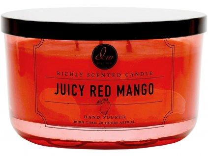 dw home juicy red mango velka svicka