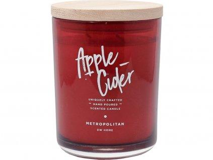 dw home prirodni svicka apple cider