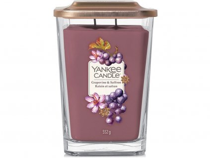 yankee candle grapevine saffron svicka velka vicko