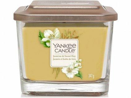 yankee candle jasmine sweet hay vicko stredni