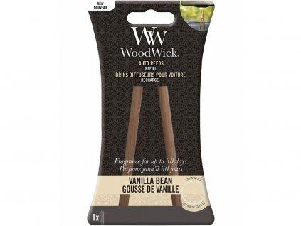 woodwick nahradni vonne tycinky vanilla bean