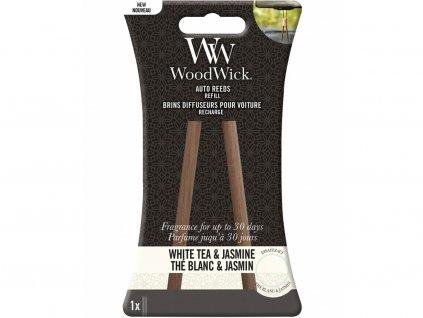woodwick nahradni vonne tycinky white tea jasmine