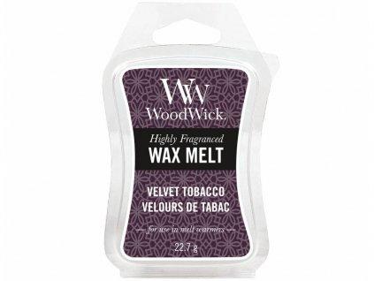 woodwick velvet tobacco vosk